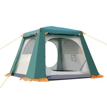 Fully Automatic Rainproof Family Camping Cabin Tent