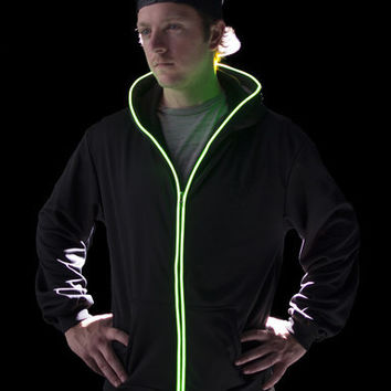 Light up Hoodie - Green