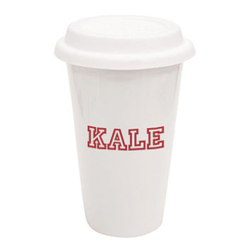 Kale Traveler Mug - A Cup Of Quotes