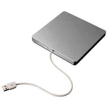 Brand New Ultrathin External Slot-in USB VCD DVD RW Super Drive CD Burner For MacBook Air Pro PC For iMac For Mac Win8