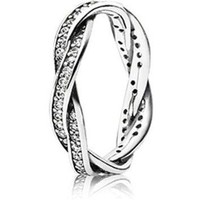Authentic Pandora Jewelry - Twist of Fate Ring