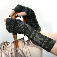 SALE Winter Warm Arm Warmers ,  fingerless gloves , mittens  - wrist warmers , cuffs , Limited Edition