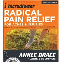 Incrediwear Radical Pain Relief For Aches & Injuries Ankle Brace