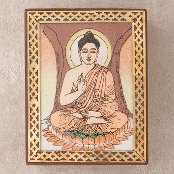 Buddha Gemstone Picture Box