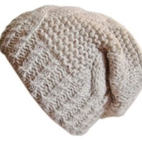 Winter Hat for Women Slouchy Beanie Hat Knitted Crystal Winter Hat Frost Hats M-80