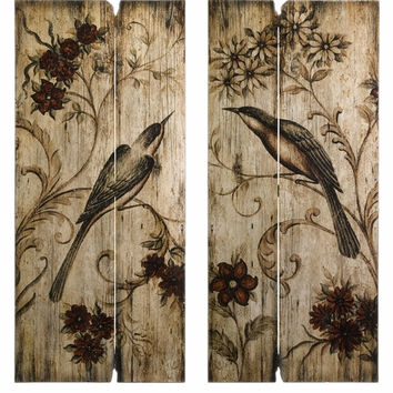 IMAX Norida Bird Home Decor (Set of 2)
