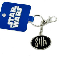 Star Wars Sith Logo Keychain Key Ring Darth Vader Lord of Darkness Space Sci Fi
