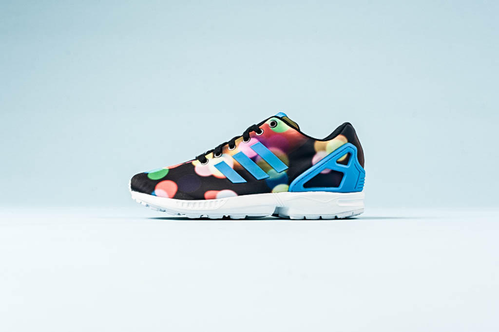 Adidas ZX flux-  Black Multi  from sneakerpolitics.com 6bbde3af0bf0
