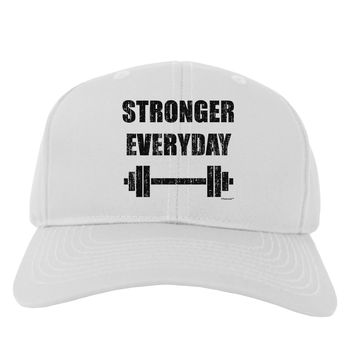 Stronger Everyday Gym Workout Adult Baseball Cap Hat