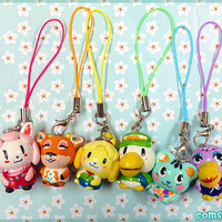 CHOOSE ANY CHARACTER! Animal Crossing Clay Charms