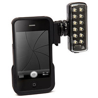 Manfrotto ML120 Hotshoe LED Panel + KLYP Case For iPhone