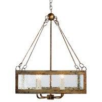 Lowcountry Originals Calibougie Square Chandelier
