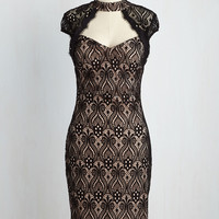 Striking Rich Dress | Mod Retro Vintage Dresses | ModCloth.com