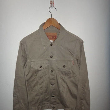 15% OFF Sale Rare EDWIN  Men's Classic Denim Jacket Medium