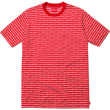 Supreme: ESD Jacquard Top - Red