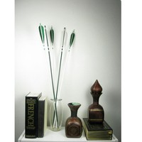 Forest Woodland Arrows Home Decor Hunter Green