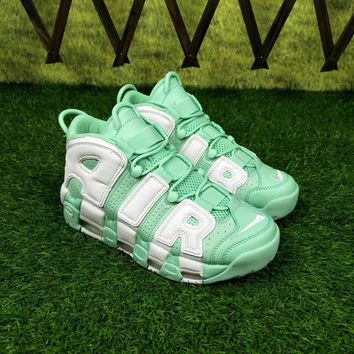 "Nike Air More Uptempo ""Island Green"" Sneakers - Best Deal Online"