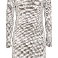 MICHAEL Michael Kors - Snake-print stretch-jersey mini dress