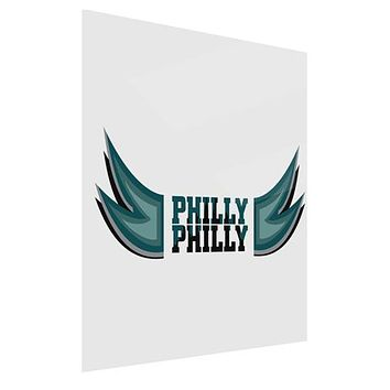Philly Philly Funny Beer Drinking Gloss Poster Print Portrait - Choose Size by TooLoud