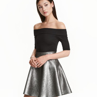 H&M Off-the-shoulder Bodysuit $29.99
