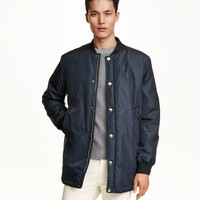 Long Pilot Jacket - from H&M