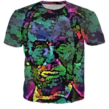 Trippy Lincoln T Shirt
