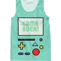 Game Over BMO Tank Top
