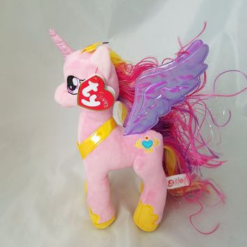 "NEW 2016 Princess Cadance Ty My Little Pony 8"" Plush MLP"