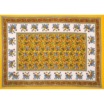 Color Animals Tapestry