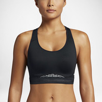 The Nike Pro Fierce Reflective Women's Sports Bra.