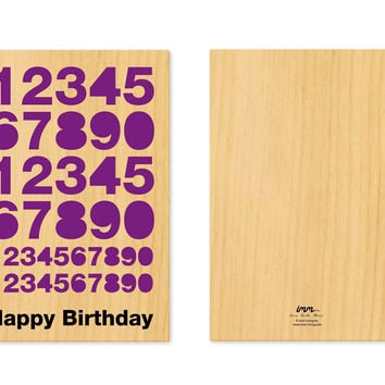 Woodworking Pop Out Cards - Happy Birthday design by imm Living