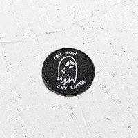 Sara M. Lyons Cry Now Cry Later Patch - Urban Outfitters