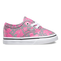 Toddlers Flower Polka Authentic | Shop Toddler Shoes at Vans