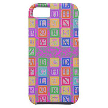 Block Letters Case-Mate iPhone 5S/5