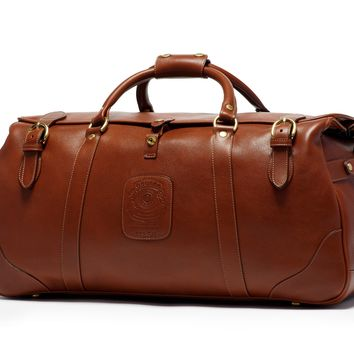 Leather Suitcase | Kilburn II No. 157 Vintage Chestnut | Ghurka