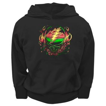 Grateful Dead - Scarlet SYF Youth Hoodie