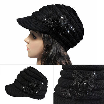 Knit Winter Ladies Hats [9073803590]