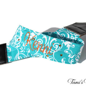 Personalized Camera Strap, DSLR Camera Strap, Canon, Nikon, Embroidered Camera Strap, Custom Camera Strap