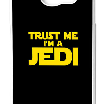 Star Wars Trust Me I am Jedi Samsung Galaxy S6 Cases - Hard Plastic, Rubber Case