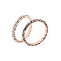 Michael KorsPavé Rings, Set of 2