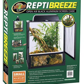 Zoo Med Repti Breeze Terrarium, Small