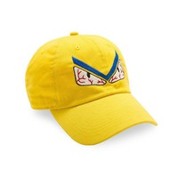 ONETOW Posh Dad Hat 'Don't Get Me Angry' WE in Yellow