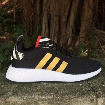 ADIDAS NMD Trending Black&Gold Women Men Sneakers B-FEU-SY Black/Gold