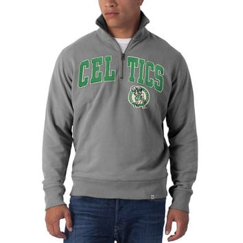 Boston Celtics - Striker 1/4 Zip Premium Sweatshirt
