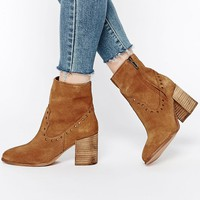 ASOS RAMDON Suede Studded Boots