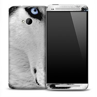 White Wolf Skin for the HTC One Phone