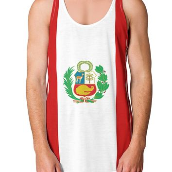 Your Country Flag AOP Loose Tank Top Dual Sided All Over Print
