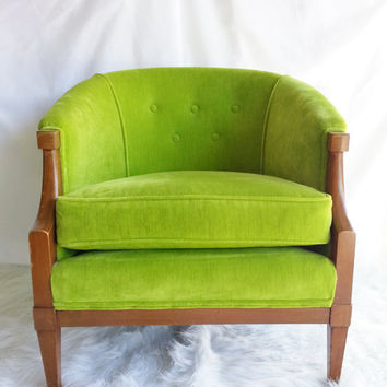 RESERVED for Stephanie.......Vintage Mid Century, Neo Classical Art Deco Upholstered Chair