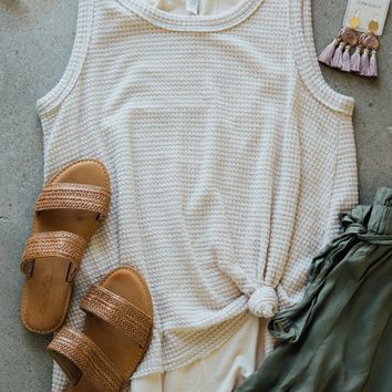 Layered Tank Top, Light Pink