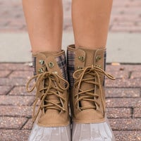 Featured Expedition Boots, Apricot